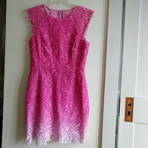 The prettiest ombre pink dress by adelyn rae!
